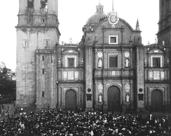 Catedral de Puebla circa 1922