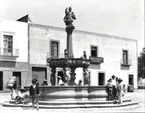 Fuente de San Miguel Arcangel Puebla Henry Greenwood Peabody