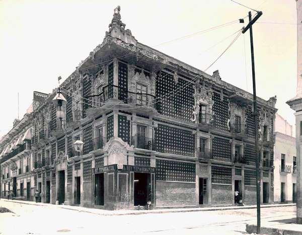 Casa del Alfeñique fotografía Henry Greenwood Peabody